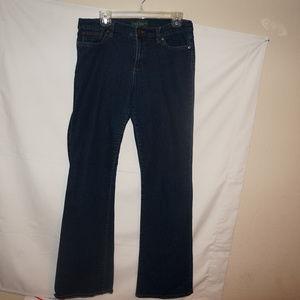Ralph Lauren boot cut jeans 10